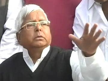 New politician on Twitter: Lalu Prasad