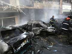 Suicide bombing kills four in Hezbollah area of south Beirut