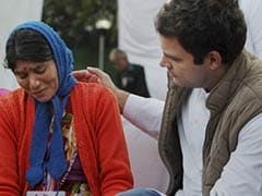 Rahul Gandhi meets families of Uttarakhand tragedy victims