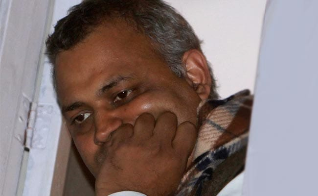 Somnath Bharti won't resign as Delhi's Law Minister: AAP