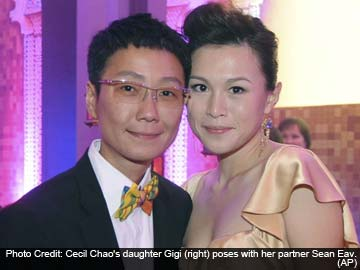 Dear Daddy, you must accept my sexuality, says tycoon's daughter