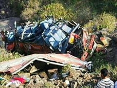 Thane: 26 dead as bus plunges into valley