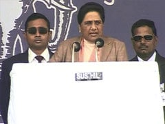Mayawati's pitch at birthday rally, rules out alliances for Lok Sabha polls