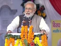 Narendra Modi speaks at a rally in Uttar Pradesh: highlights