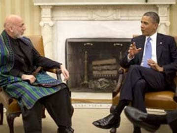Barack Obama warns Hamid Karzai of zero troops in Afghanistan
