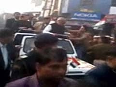 Haryana Chief Minister Bhupinder Singh Hooda slapped at road show