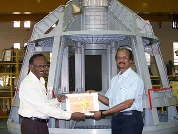 ISRO unveils space capsule that will fly Indian astronauts