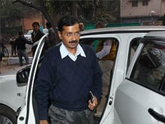 Arvind Kejriwal moves into his new house in Delhi