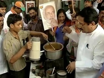 Narendra Modi to launch 'chai pe charcha' campaign today