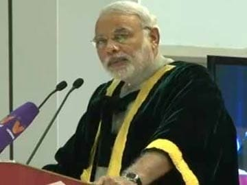 Create a Microsoft, Google in India, Narendra Modi tells college students in Chennai