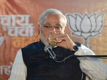 Narendra Modi's 'chai pe charcha': Between sips of tea, a strong political pitch