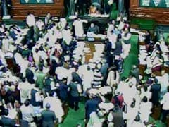 Telangana bill passed in Lok Sabha amid TV blackout