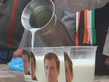 Now, 'Rahul Milk' to counter 'Modi chai'