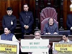 Telangana Bill likely in Rajya Sabha today; government, BJP headed for a showdown