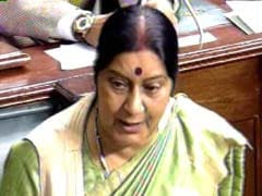 Not technical, it was a 'tactical glitch,' says Sushma Swaraj on blackout