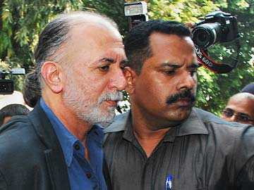 Tehelka founder Tarun Tejpal booked for illegal possession of mobile phone in jail