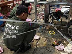Blood on the streets as bomb kills child, wounds 24 in Bangkok