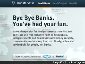 Skype-type money swaps bad news for banks?