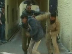 Caught on camera: UP cops thrash mentally-challenged man