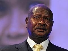 Ugandan President 'won't even kiss wife in public'