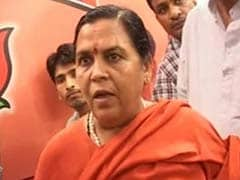 BJP's Uma Bharti made campaign in-charge for Uttarakhand