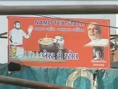 A NaMo tea stall at Naroda Patiya, one of the worst hit areas in 2002 Gujarat riots