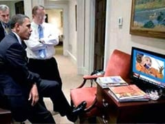 Morphed photo shows Barack Obama watching Narendra Modi speech