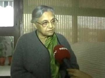 Pained by what happened in Delhi Assembly yesterday: Sheila Dikshit to NDTV