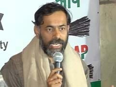 Yogendra Yadav, others file election nominations from Gurgaon