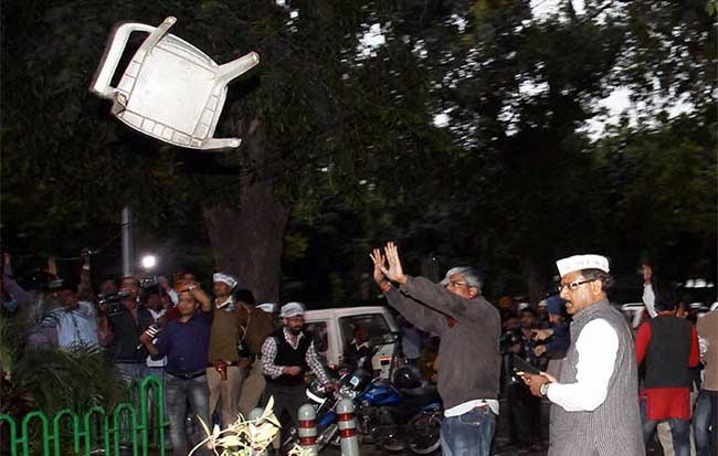 Police report blames AAP for instigating Delhi violence