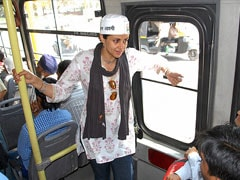 Bus ticket, check. Election ticket, check. Gul Panag is on her way