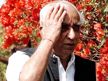 Jaswant Singh says he'll file nomination today, sources say he might not quit party