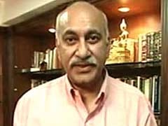 BJP Lawmaker MJ Akbar Blames West Bengal Government for 'Terror Raj'