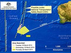 Norwegian ship reaches area where Malaysia Airlines plane debris may have been spotted