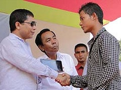 Meghalaya Chief Minister says NPP candidate P A Sangma is 'an agent of BJP'