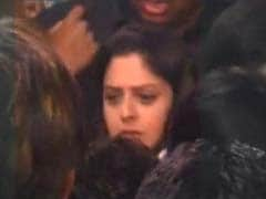 Congress candidate Nagma slaps man who allegedly groped her at public meeting