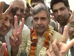 Sandeep Dikshit files nomination papers from East Delhi Lok Sabha constituency