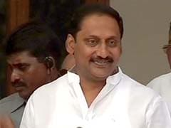 Kiran Kumar Reddy unveils 'footwear' as his new party's symbol
