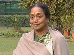 Lok Sabha Speaker Meira Kumar files nomination papers