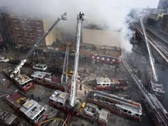 Two New York buildings collapse in explosion, 1 dead