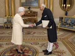 India's new envoy to UK presents credentials to Queen
