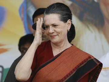 Sonia Gandhi to address rally in Delhi today