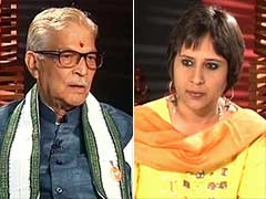 Watch: It's BJP's manifesto, not a Modi-festo, MM Joshi tells NDTV