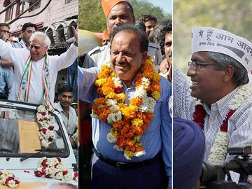 Delhi: 1.2 crore voters to decide between BJP, Congress and AAP
