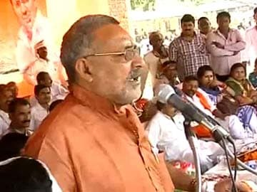 There'll be no place in India for Modi critics, says BJP leader Giriraj Singh