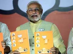 In muscular manifesto, BJP shuns global retailers