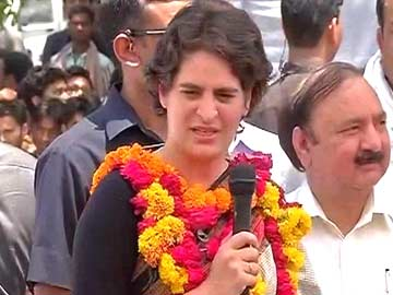 My husband is being humiliated, says Priyanka Gandhi Vadra to Raebareli