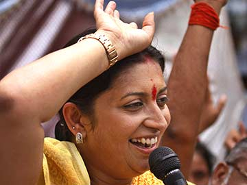 Smriti Irani: small-screen actor's big-ticket moment