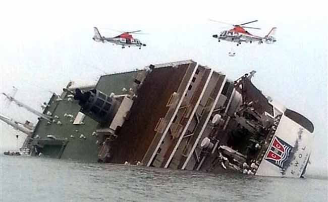 Two dead, 368 rescued from capsized South Korea ferry: official