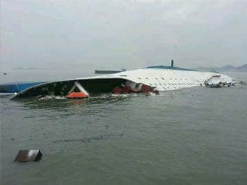 Two dead, 293 missing in South Korea ferry capsize